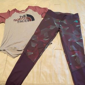 North Face Work Out Gear